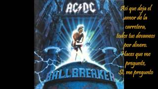 AC DC - What do you do for money honey (Subtitulada En Español)