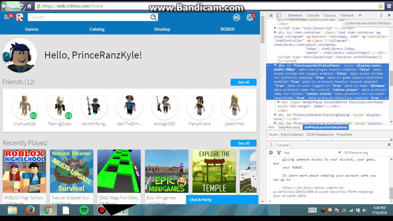 Robux Inspect Element Code How To Get Free Robux From Inspecting 2018 You Want Robux 100k