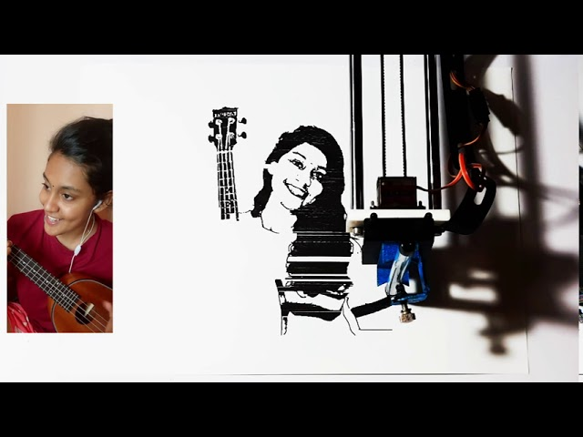 Arya Dhayal Classical Fusion Singer Shape Of You Believer Ukulele Covers Artworks Youtube