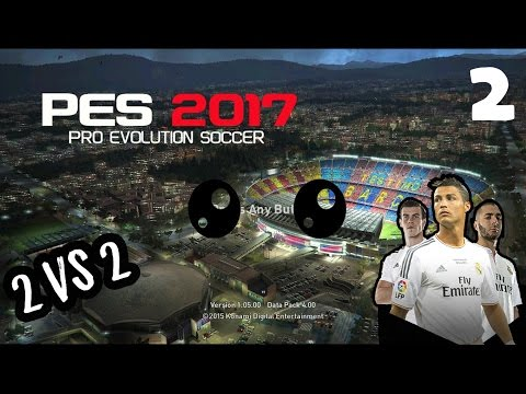 Pro Evolution Soccer 2017 Indonesia | Ketika Mata Mines Main Game (2 vs 2)