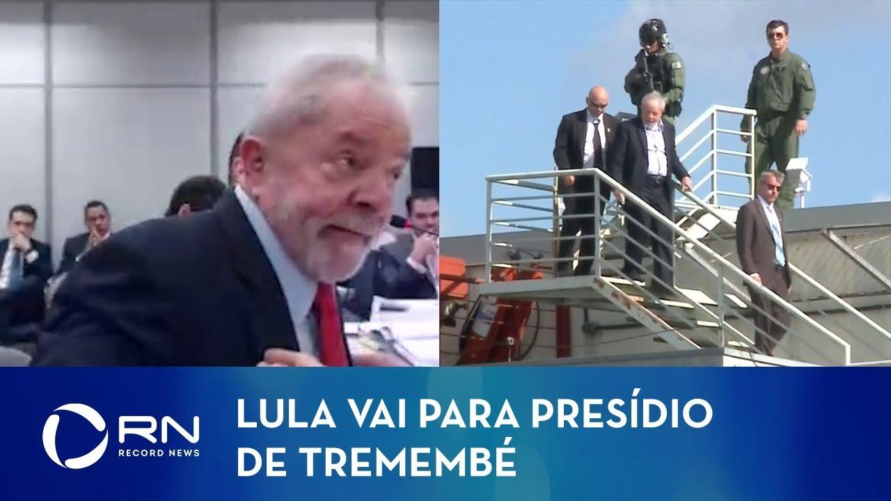 Ex-presidente Lula vai para presídio de Tremembé (SP)