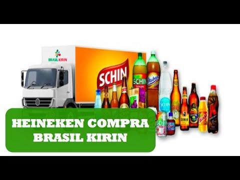 Heineken compra a Brasil Kirin (dona da Nova Schin, Devassa, Glacial e Tubaina)