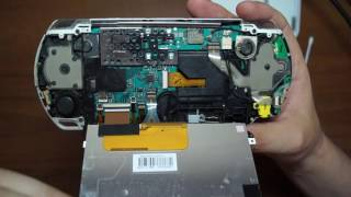 Супер обзор и ремонт PSP E - 3008, SONY PLAYSTATION, снаружи и внутри(Обзор PSP и ремонт кнопки включения своими руками в домашних условиях. Ну или вы можете посмотреть из чего..., 2016-07-28T16:42:13.000Z)