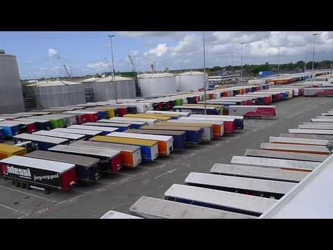 DFDS trailer ferry transport