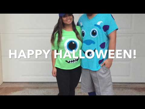 10 31 16 Diy Monsters Inc Costume Youtube