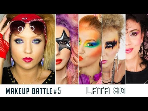 Makeup Battle 5 Bitwa Na Pędzle Lata 80te 80s En Subs