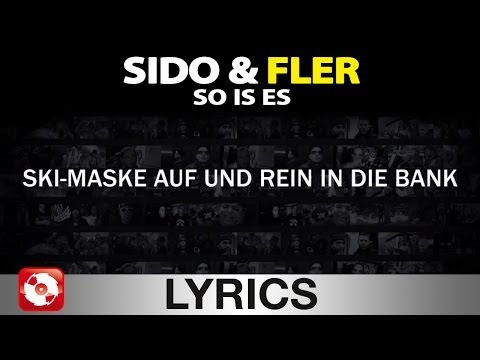 SIDO & FLER - SO IS ES - AGGROTV LYRICS KARAOKE (OFFICIAL VERSION )