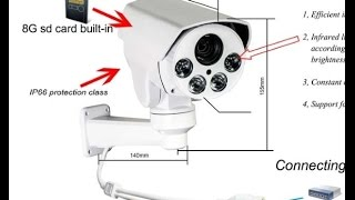 тест IP Ptz Camera Jomla 2.0mpx 10X zoom Omsk Arena