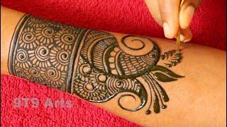 Unique Dulhan Mehndi Design Gol Tikki Mehndi Mandala Art Peacock Mehndi Designs Check Mehndi Art