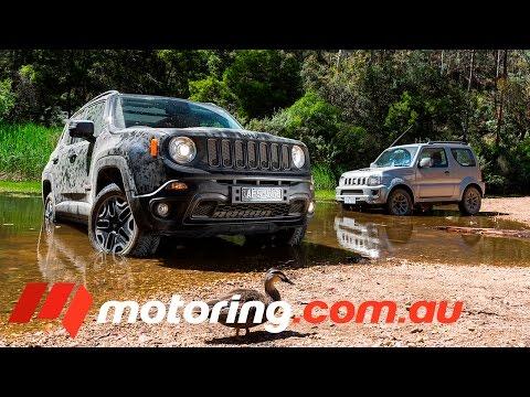 2015 Suzuki Jimny v Jeep Renegade Trailhawk Comparison