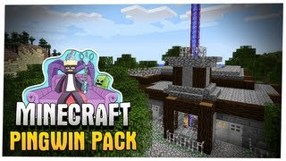 Minecraft - Buildcraft, Mody i wiele wiecej! Pingwin Pack Let