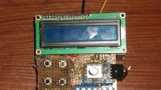 dds frequency generator atmega328p своими руками Без музыки