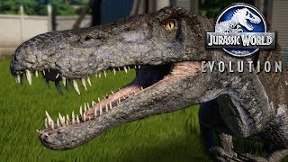 WE HAVE A BARYONYX!!! - Jurassic World Evolution FULL PLAYTHROUGH | Ep45 HD