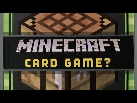 Minecraft Card Game from Mattel