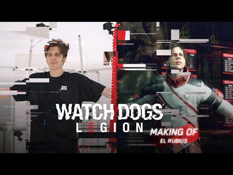 Watch Dogs: Legion - Rubius personaje JUGABLE (Making Of)