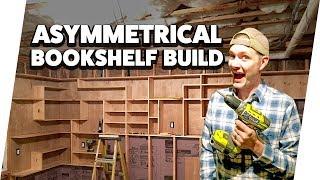 Building a Custom Built-In Bookshelf