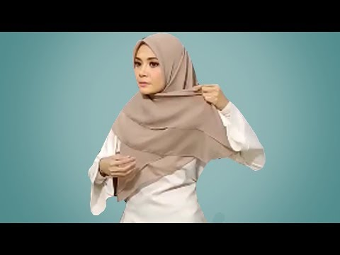 Cara Hijab Segi Empat Dengan Mudah Baru