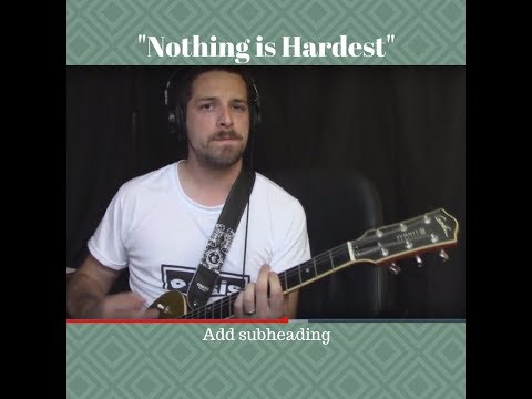 Nothing is the Hardest free music demo download in mp3