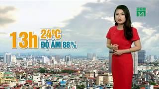 VTC14 | Thời tiết tổng hợp 13/03/2018 | Độ ẩm không khí vẫn lên tới 88%