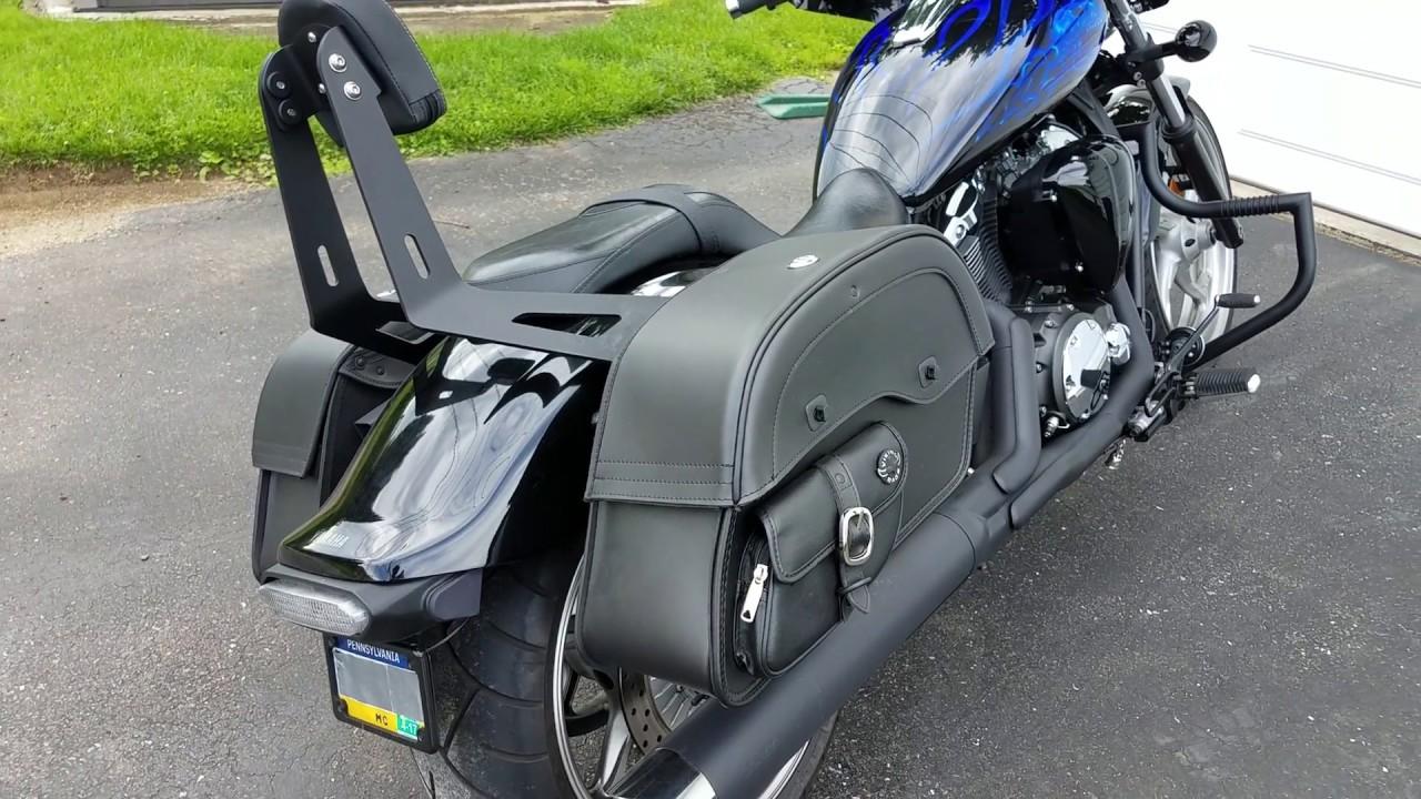 2011 yamaha stryker motorcycle saddlebags review for Yamaha stryker saddlebags