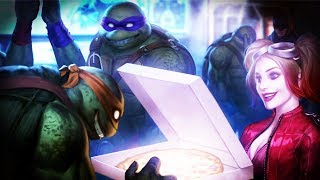 NINJA TURTLES Ending (Multiverse and Arcade Ending) Injustice 2 1080p HD