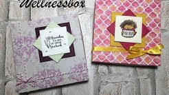 Wellnessbox basteln * Tutorial *