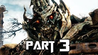 Transformers Rise of the Dark Spark Walkthrough Gameplay Part 3 - Shockwave (PS4)