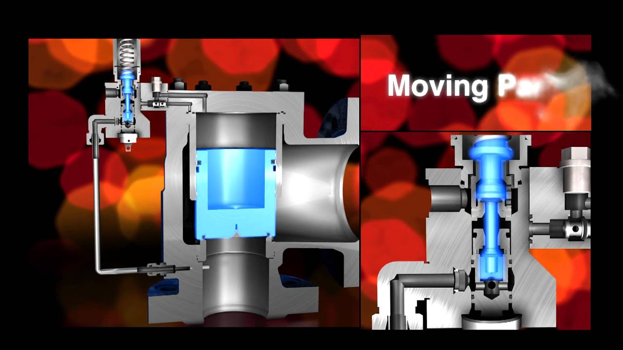 hydraulic control valve diagram leser pilot operated safety    valve    pop action youtube  leser pilot operated safety    valve    pop action youtube