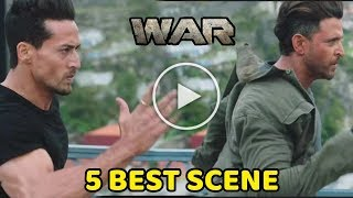 War Movie Teaser | 5 Best Scene | Hrithik Roshan, Tiger Shroff, Vaani Kapoor