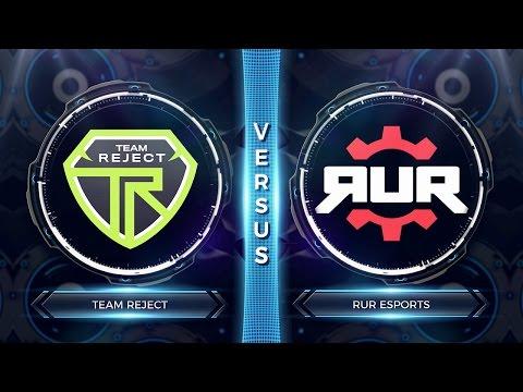 FCS S2 Round 7 - RUR ESPORTS vs TEAM REJECT