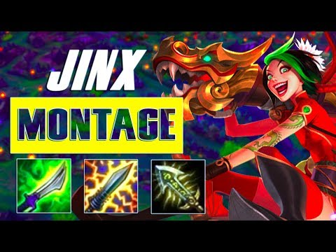 Jinx Montage #49 - Best Jinx Plays - Pentakill