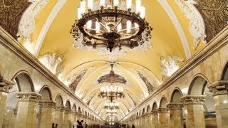 Moscow Metro Masterpiece Russia
