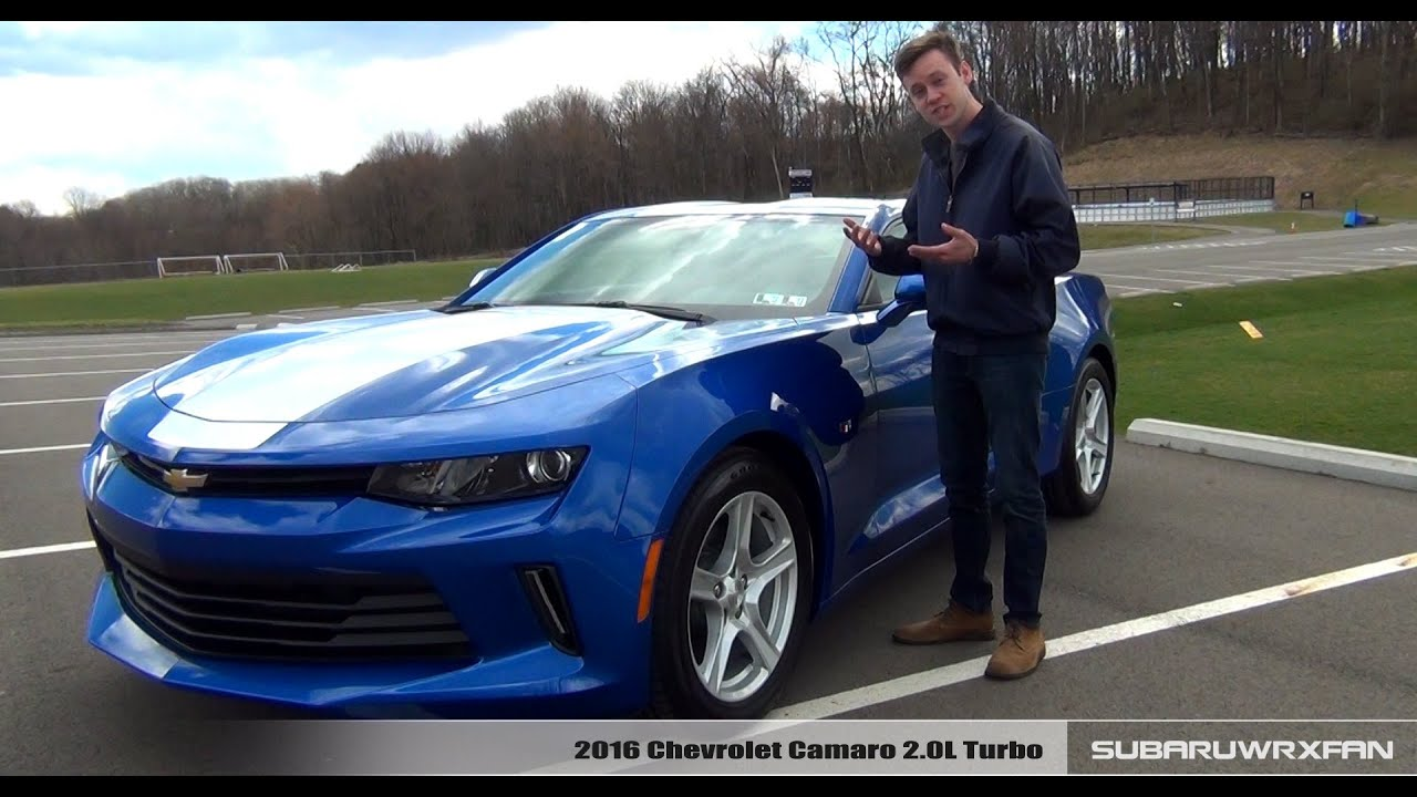 Review 2016 Chevrolet Camaro 2 0l Turbo