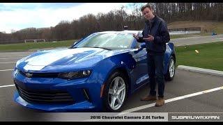 Review: 2016 Chevrolet Camaro 2.0L Turbo