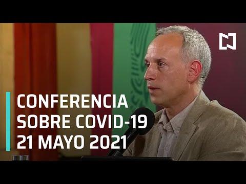 Informe Diario Covid-19 en México - 21 mayo 2021