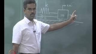 Mod-01 Lec-11 Free and forced vibration of single degree - of - freedom systems