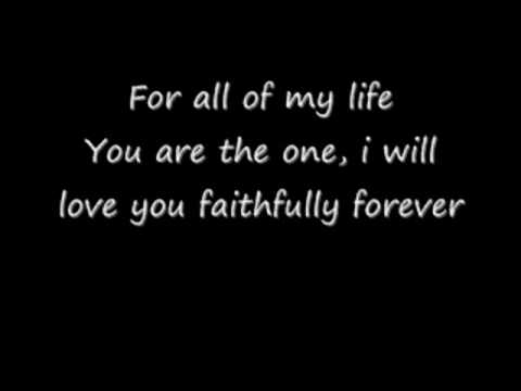 For All Of My Life - MYMP