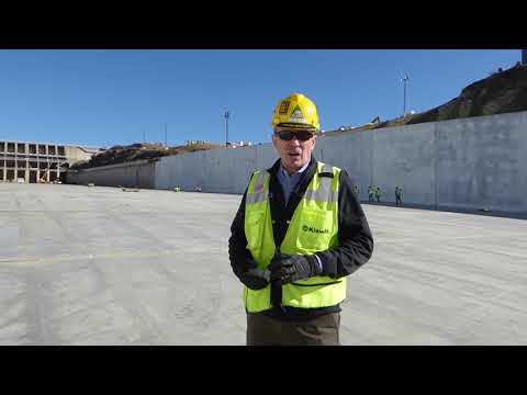 Oroville Dam's spillway expeditious emergency rebuild