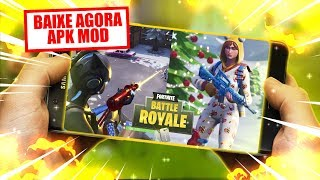 SAIU💥FORTNITE MOBILE INSTALANDO EM TODOS CELULARES ANDROID FRACOS - DOWNLOAD APK FORTNITE MOD