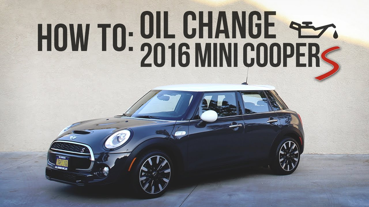 mini r56 jcw oil change