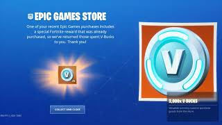Fortnite: Gifts/ nBKg gets 2000 V-Bucks for *FREE* | #sk8NPLay #nBKg