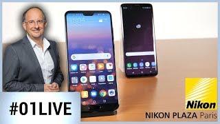 Les nouveaux smartphones Huawei : mieux que les Galaxy ? - 01LIVE HEBDO #179