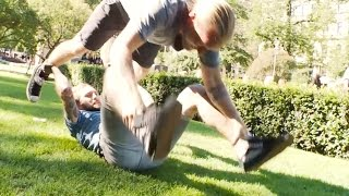 Dudesons Trick School: Double Trouble Somersault - Dudesons VLOG