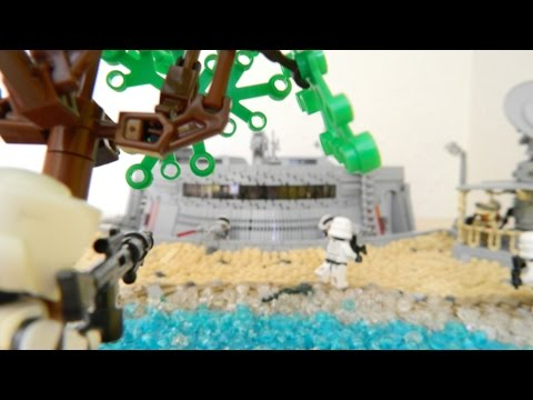 LEGO Star Wars MOC: Delta-Basis der Allianz