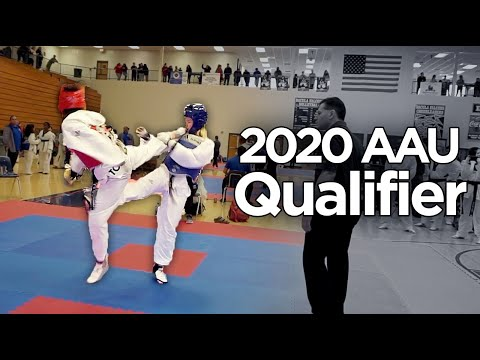 2020 AAU GA State Qualifier Sparring Highlights