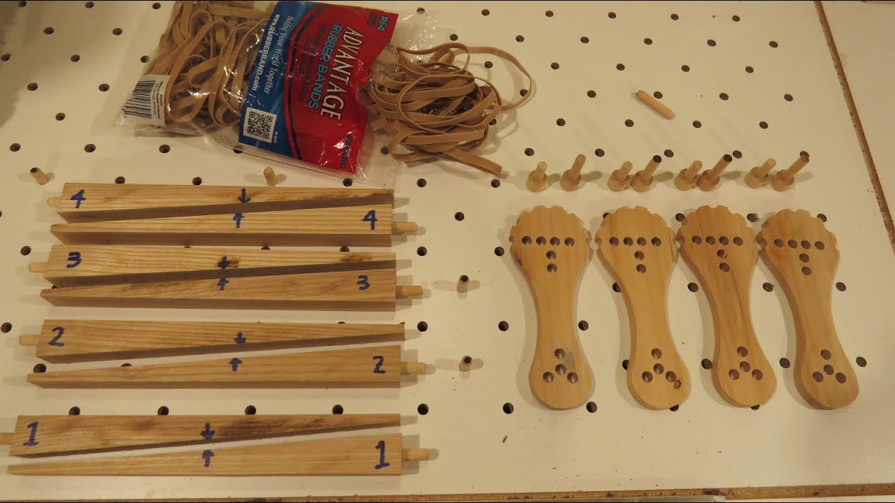Wood and Rubber Band Clamps For my CNC Router - YouTube