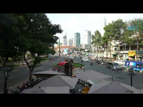 Johann Strauss II - The Blue Danube Waltz - Traffic in Saigon Vietnam