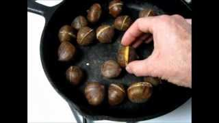 How To Roast Chestnuts At Home