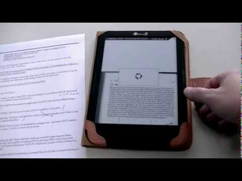 icarus 8 ebook reader test with multiple djvu and pdf files youtube. Black Bedroom Furniture Sets. Home Design Ideas