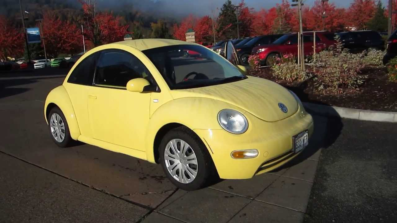 youtube yellow beetle watch volkswagen